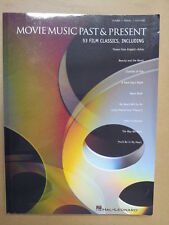 songbook MOVIE MUSIC PAST & PRESENT, Hal Leonard, piano-vocal-guitar