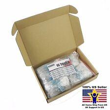50value 500pcs 2W Metal Film Resistor +/-1% Assortment Kit US Seller KITB0139