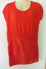 SASS & BIDE orange 'Tic Tac' dress,size AUS 8, RRP$350
