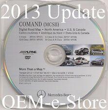 2006 2007 2008 Mercedes ML320 ML350 ML500 ML550 Navigation DVD Map V.2013 Update