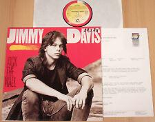 JIMMY DAVIS - Kick The Wall  (QUANTUM, D 1988 + PROMO-INFO / LP m-)