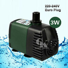 220V Submersible Pump 119GPH Aquarium Pond Powerhead Fountain Water Hydroponic