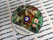 PS2 PAL ITA METAL GEAR SOLID 2 SONS OF LIBERTY PRIMA STAMPA DISCO OTTIMO!SOLO CD