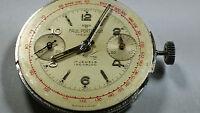 Valjoux 22 Movement, Chronograph 2 registers, RARE Vintage, watch part Beautiful