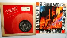 stereovox sampler  vox,   test record from Cook records