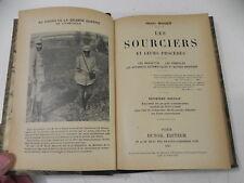 Mager Henri LES SOURCIERS ET LEURS PROCEDES baguettes pendules etc 1923 relié