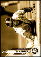 Ken Griffey Jr. 2020 Topps Super Short Print Variations 5x7 Gold #517 /10 Marine