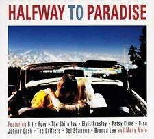 HALFWAY TO PARADISE - VARIOUS ARTISTS  (NEW SEALED 2CD) Billy Fury-Bobby Vee