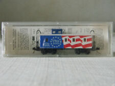 N SCALE  (RARE) USA - 200/ 1776-1976, 34' WOOD CABOOSE,