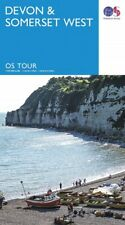 Devon and Somerset West Tour Map Ordnance Survey 5