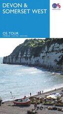 Devon and Somerset West Tour Map Ordnance Survey 5