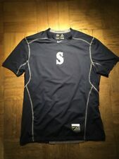 Nike Hypercool Compression Shirt Seattle Mariners Mens Large MLB Authentic