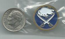 NHL Buffalo Sabres Small Round Logo Pin 1990's OOP Vintage
