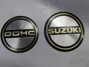 NEW  Original Suzuki GS850 GS750 GS650 Ignition Cover EMBLEM  SET