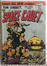 Silver Age TOM CORBETT, SPACE CADET Volume 2, #2 FN- 1955 FLYING SAUCER COVER!