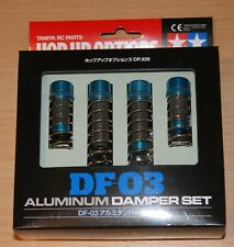 Tamiya 53926 DF-03 Aluminum Damper Set (DB01/DB02/TT02B/DF02/DT02/DT03), NIB