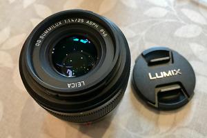 Leica DG Summilux 25mm f/1.4 ASPH Lens H-X025 (micro four thirds)