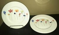"(3) Royal Stafford SCATTERED FLOWERS 11"" Dinner Plates"