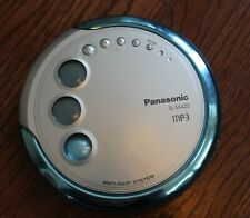 Panasonic Sl-Sx420 Mp3 Discman Blue Anti-Skip Portable Cd Player. Tested