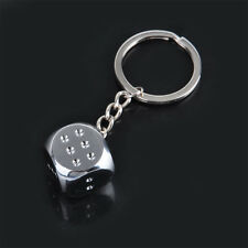 Key Chain Dice Cool Fashion Men Ladies Charm Pendant Keychain Keyring Gift