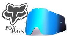 Fox Principal Espejo Azul Hielo Lentes Repuesto Goggle Motocross separe Nueva BMX MX
