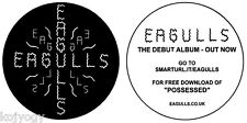 EAGULLS US PROMO STICKER FOR THE DEBUT ALBUM & FREE DOWNLOAD OF POSSESSED