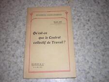 1908.le contrat collectif de travail / Raoul Jay.catholique