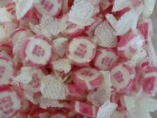 50 PINK MR + MRS WEDDING FAVOURS ROCK SWEETS