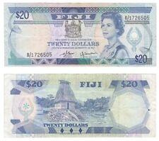 FIJI - $20 Dollars Banknote (1980) P.80a - VF.