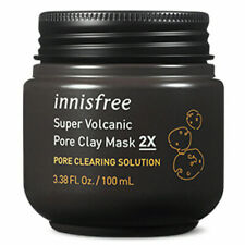 [innisfree]Super volcanic Pore Clay Mask 2X 100ml / Pore Cleansing Solution