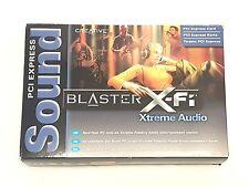Creative Labs Sound Blaster X-fi Xtreme Pcie Tarjeta De Sonido SB1040