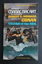 "TIGERS OF THE SEA by R E HOWARD ""CORMAC MAC ART"" JEFF JONES CVR AF ILLUSTRATED"