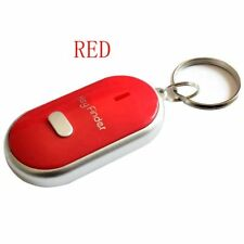 LED Anti-Lost Key Finder Locator Keychain Whistle Sound Control Keyring Tracker