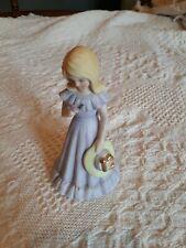 1981 Vintage Growing Up Girls from Enesco Birthday Girl Figurine Age 12 Blonde