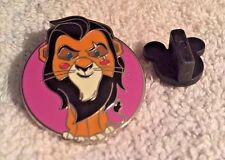 DISNEY TRADING PIN-  SCAR FROM THE LION KING FROM WORLD OF EVIL BAG SET