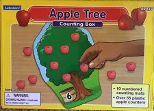 Lakeshore Apple Tree Counting Box Children's Educational Learning Numbers Age 3+