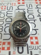 Swatch  Lava Rock YDS401 Irony Chrono 38mm Stainless Steel