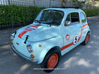 1974 Fiat 500 Ragtop! Gulf Heritage version! SEE Video 1974 Fiat 500 Micro car ragtop! similar to 600 abarth gulf heritage ford gt