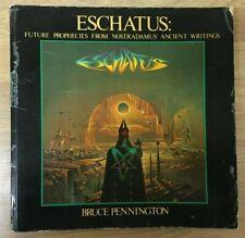 Eschatus: Nostradamus' Prophecies of Our Future (1978 Softcover, 1st Print)