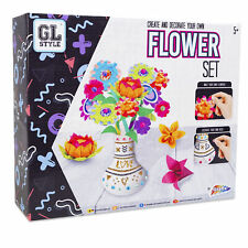 Grafix Create and Decorate Origami Flower Kit Art & Crafts Sets Age 5+