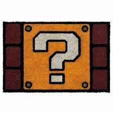 Official Nintendo Super Mario Question Block Design Doormat