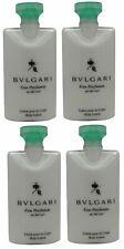Bvlgari au the vert Green Tea Body Lotion lot of 4 each 2.5oz Total of 10oz