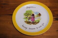 Laura – Happiness is having someone to care for - Decorative plate