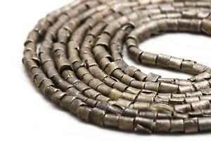 300 Vintage Ethiopian Tube Beads African Metal bead 3mm Spacers