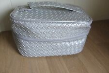 GATINEAU  SILVER  COSMETIC / MAKE-UP  CASE ~  NEW