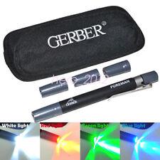 3 Pack/Lot Foreman GERBER 4 Color Waterproof Slim Ultra Outdoor LED Sheath Light