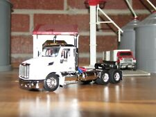 1/64 DCP White w/ Black Roof Peterbilt 579 DayCab