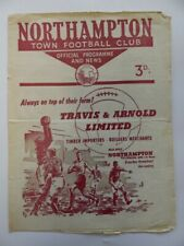 More details for northampton town vs doncaster rovers | 1960/1961 | fourth division