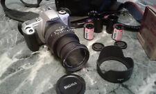 Kamera Spiegelreflexkamera Canon EOS 300, Tasche, 28-135 mm Sigma Objektiv