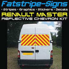Renault Master Reflectante Galones Kit Swb MWB Lwb van gráficos pegatinas